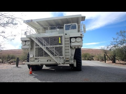 Tour Of The Asarco Copper Mine