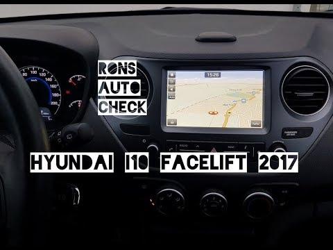 Hyundai i10 | Facelift 2017 interior / Neues Multimedia System und Navigation im Test | Bedienung