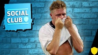 HAVE YOU EVER CRIED AT FOOTBALL? #ASKTHECLUB | SOCIAL CLUB