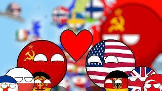 видео: Альтернативная история Европы(1985 год). Countryballs. [Фильм]
