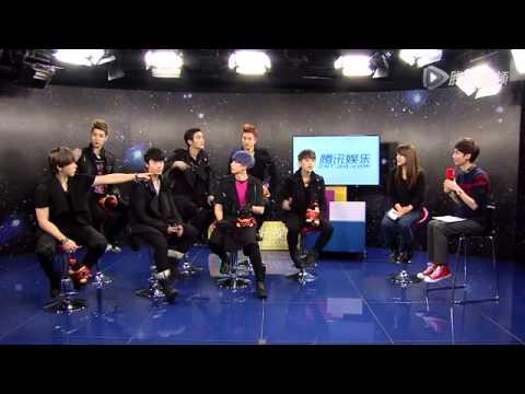130109 Super Junior-M Tencent QQ Interview - Full