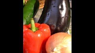 Roasted Eggplant And Zucchini