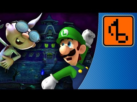 Luigi's Mansion WITH LYRICS - [FLOSSTOBER 2013] - brentalfloss