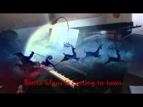 santa claus is coming to town piano pdf