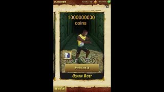 Get unlimited gems and coins in Temple run 2