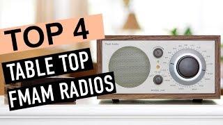 BEST 4 Table Top Fmam Radios 2018