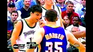 Lakers at T'Wolves, 2003 WC Rd. 1, Gm 1