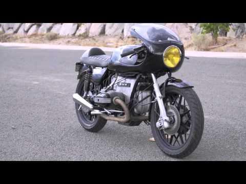 1977 bmw r100/7 cafe racer - youtube