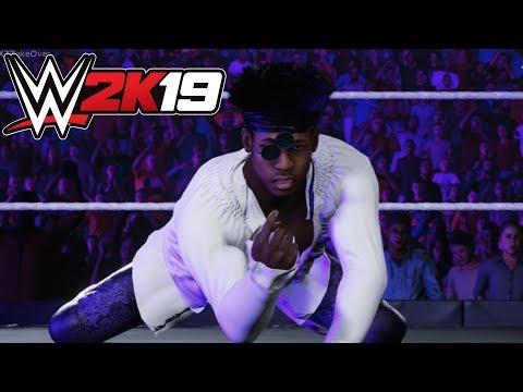 WWE 2K19 FIRST MATCH ADAM COLE VS VELVETEEN DREAM