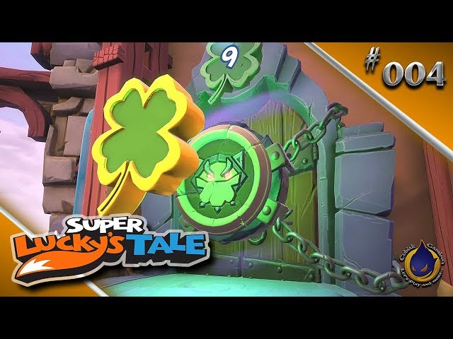 MIAU-LIN KUNG 🍀 Let's Play SUPER LUCKY'S TALE #004