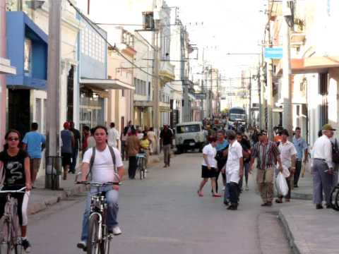 Cuba - Street Scene from the city of Camaguey