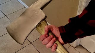 "The Shining Replica ""Jack Torrance"" Axe (Trick or Treat Studios) UNBOXING"