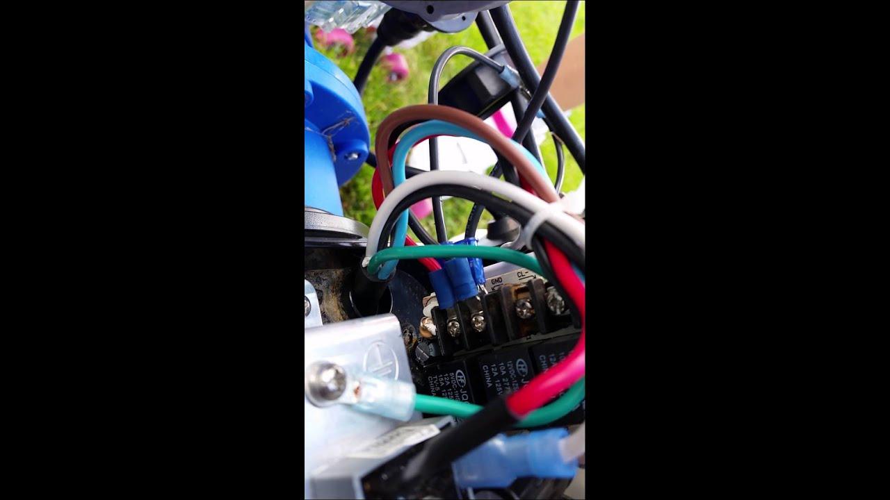 Intex Salt Water Generator Service Light Fix Cs15110 Youtube