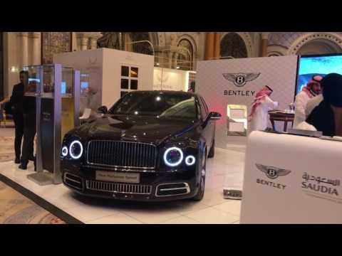 Bentley at the World Luxury Expo 2017