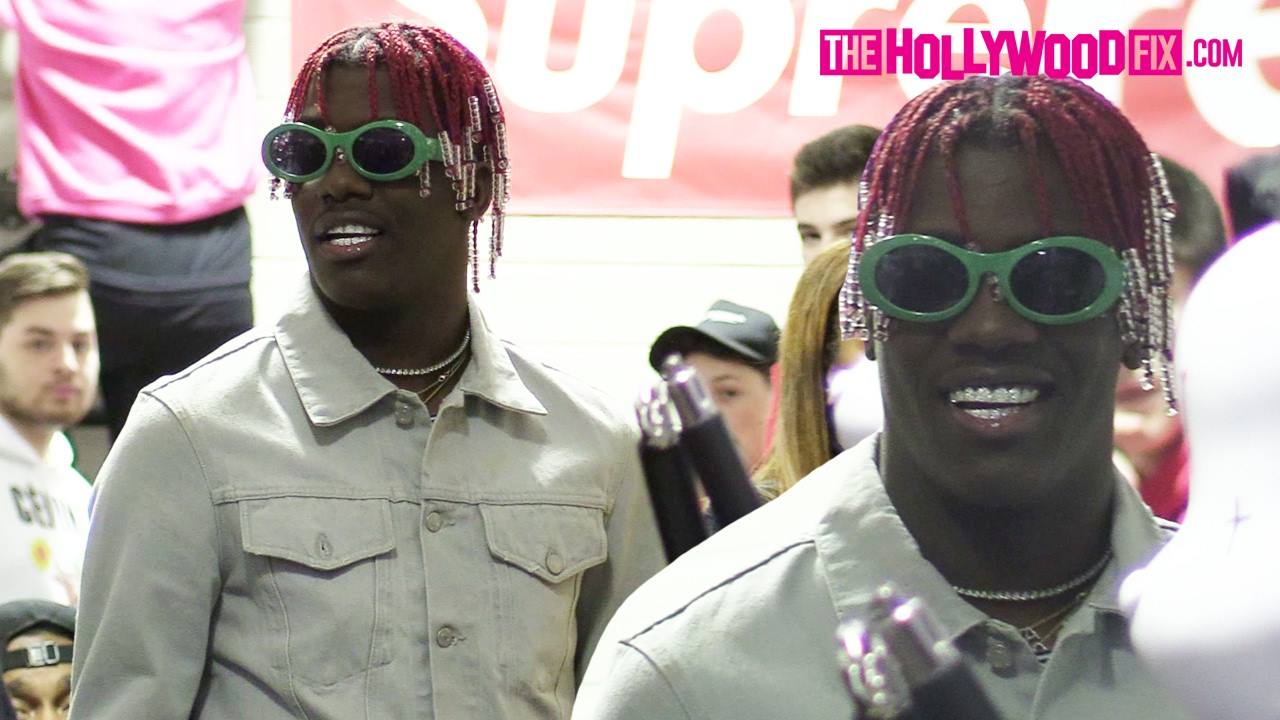 Lil Yachty Hosts A Fan Meet Greet At Round Two Vintage Clothing