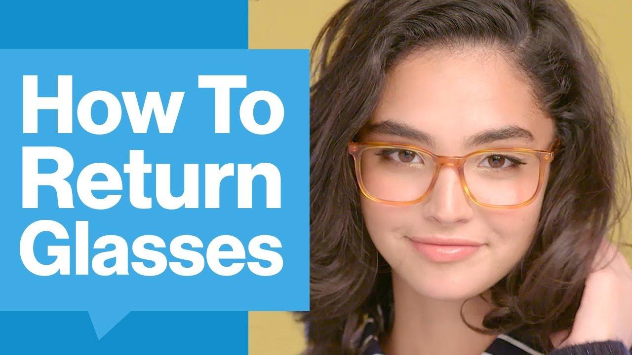 e9e02a79cc How To Return Glasses To GlassesUSA.com - YouTube