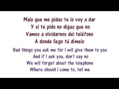 Nicky Jam - Travesuras Lyrics English and Spanish - Translation