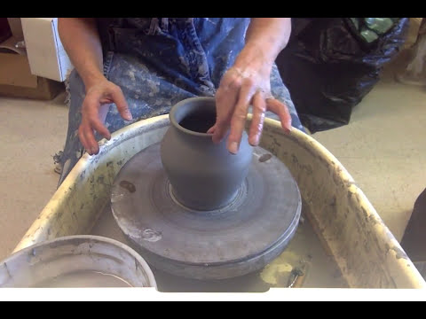 Skill of the week  altered pottery on the wheel
