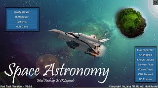 Minecraft Space Astronomy Modpack Review