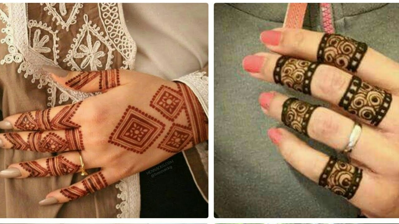 Simple/easy/latest mehndi designs for hands