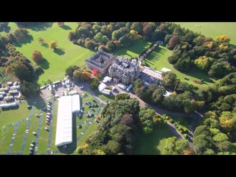 Rothschild's,  Halton house, bucks, 4K Yuneec Typhoon H