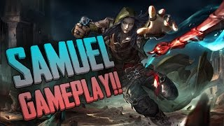 Vainglory Gameplay - Episode 218: SAMUEL GAMEPLAY!! Samuel |CP| Lane Gameplay [1.21 Beta]