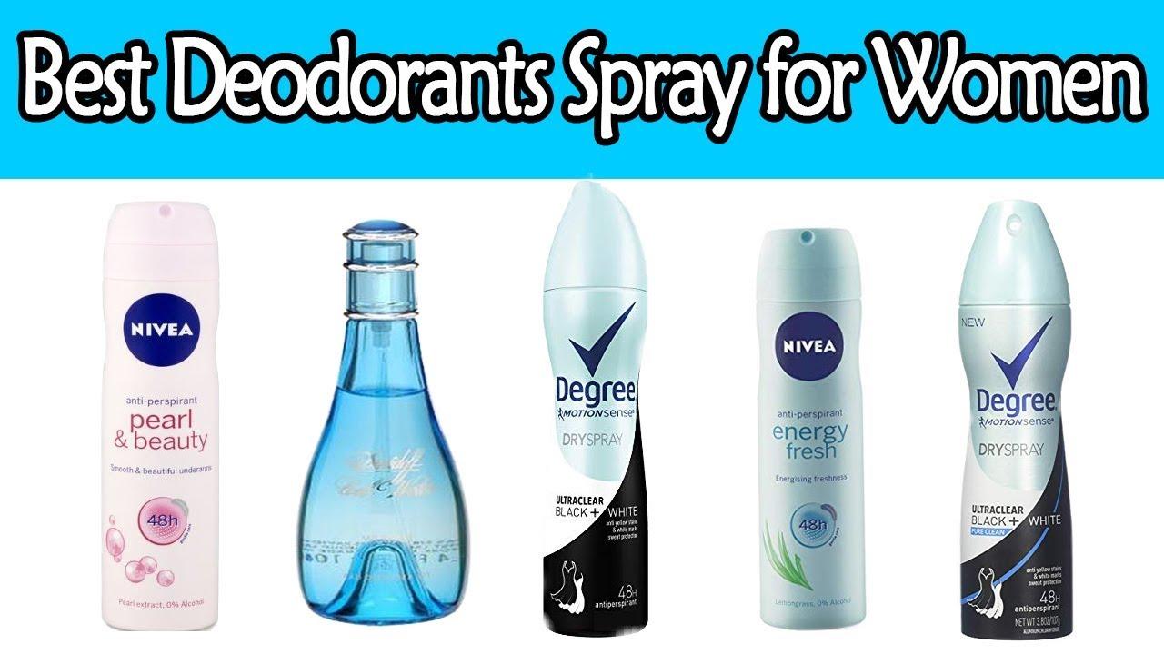 5 Best Deodorants Spray For Women With Price Best Deodorant For