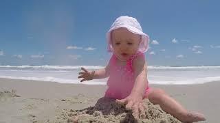 Summer Beach Babies!   Cute Baby Compilation