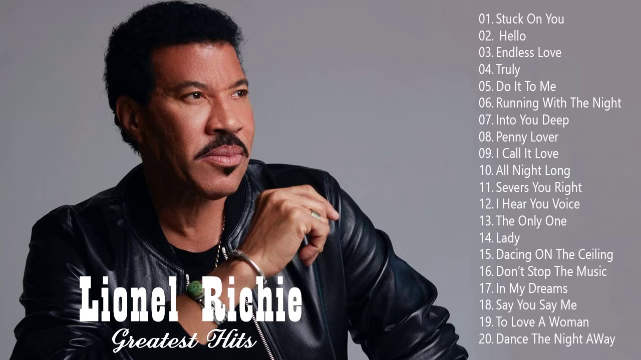 Download Lionel Richie Greatest Hits 2020 - Best Songs of Lionel Richie full album
