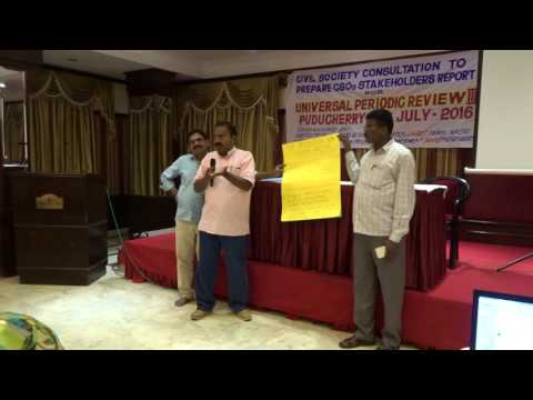 Group Presentation - Rights of SC, ST, Fisherfolks, Minorities, Diffabled, Human Rights Defenders