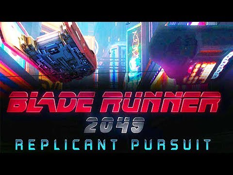 BLADE RUNNER 2049  Replicant Pursuit Trailer (VR Game - 2017)