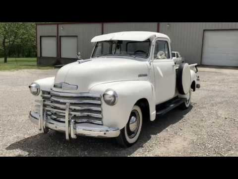 1949 Chevrolet 3100 Series 5 Window Cab Pickup #J23788 FOR SALE