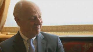 De Mistura dejará el puesto de enviado de la ONU para Siria tras cuatro años (C)