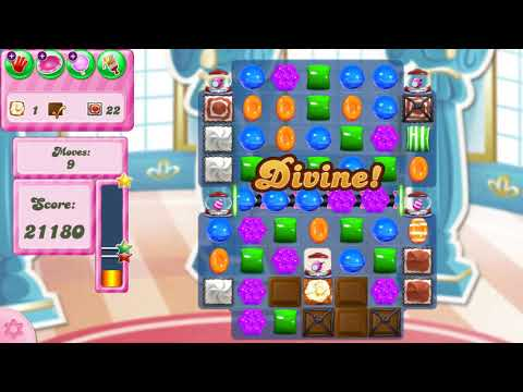 Candy Crush Saga Level 2912 NO BOOSTERS