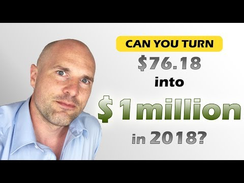 Turning Less Than $100 into $million with Crypto Currency in 2018