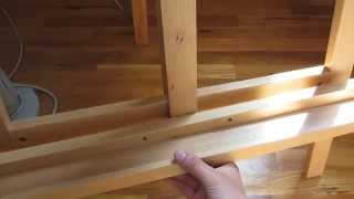 Easel Assembly In Hd Part 2 - The Center T Canvas Rest