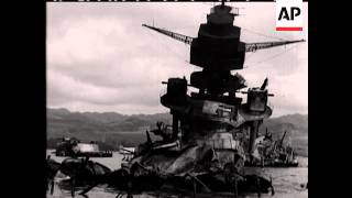Attack on Pearl Harbour 1941 - no sound