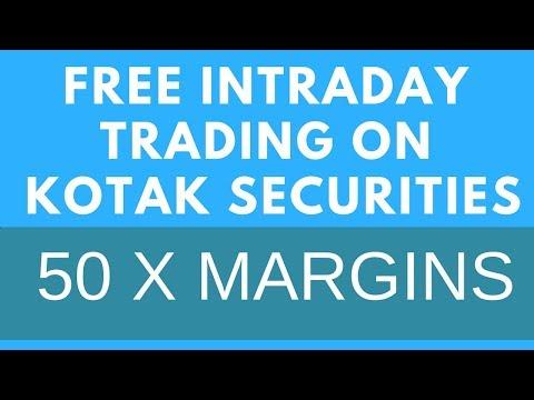 Free Intraday Trading On Kotak Securities