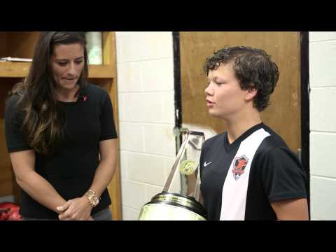 Katie Cousins: 2013-2014 Gatorade National Girls Soccer POY | Gatorade Player of the Year