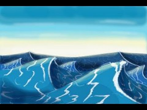 How to draw ocean waves youtube ccuart Gallery