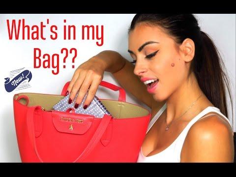 WHAT'S IN MY BAG?? | PATRIZIA PEPE EDITION | Michela Parisi
