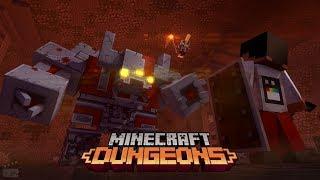Portal to Minecraft Dungeons - Minecraft Dungeons Mod Gameplay Teaser [ Minecraft Animation ]
