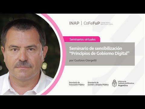 Principios de Gobierno Digital: Jornada 1  Principios del Gobierno invisible