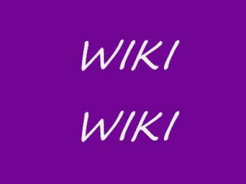 wiki wiki cancion original