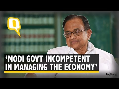 P Chidambaram: Not enough economists and economic experts in the Modi govt | The Quint