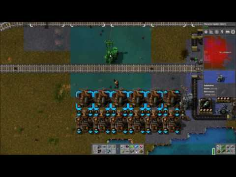 Factorio Railworld Ep#95: Plummeting Petroleum