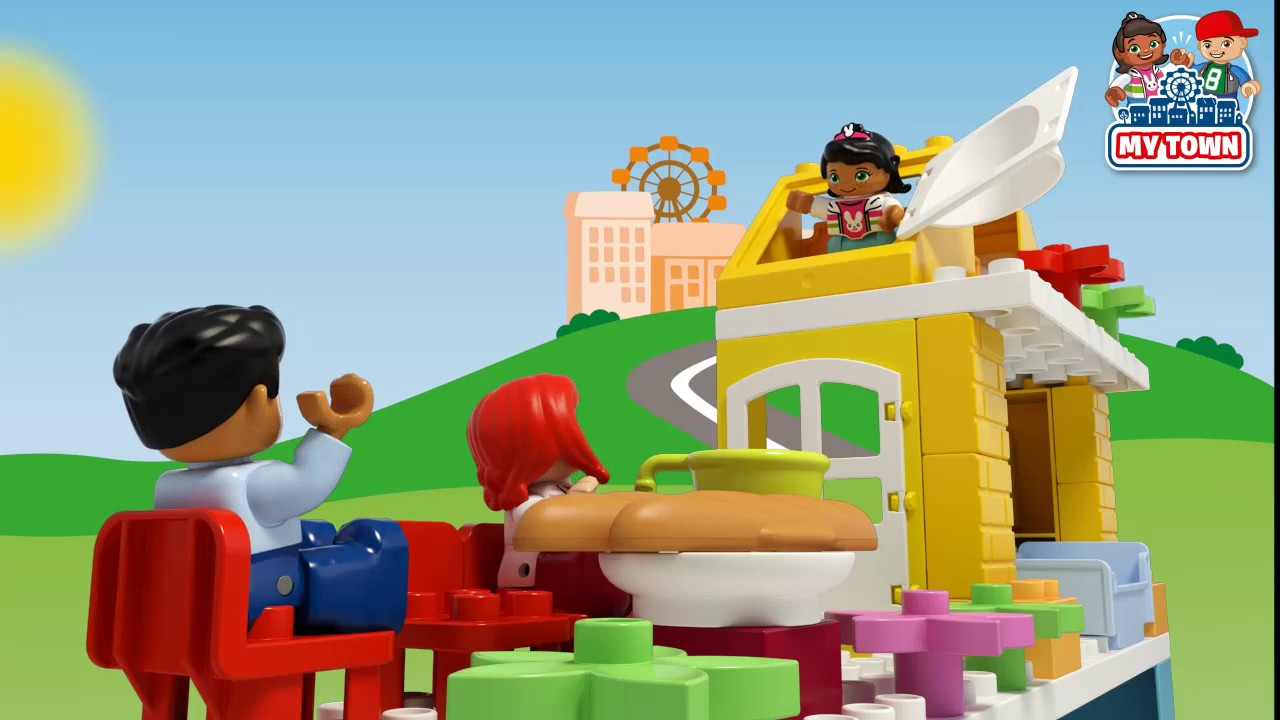 My Town Family House - LEGO DUPLO - 10835 - Product Animation