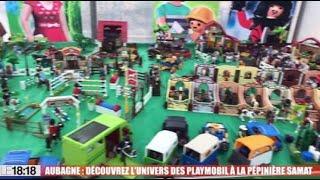 Aubagne : découvrez l'univers des Playmobil à la pépinière Samat