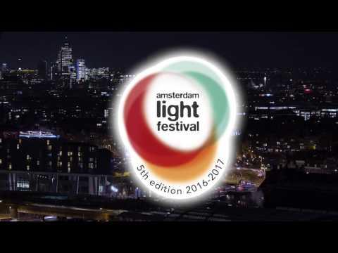 Amsterdam Light Festival 2016-2017 timelapse
