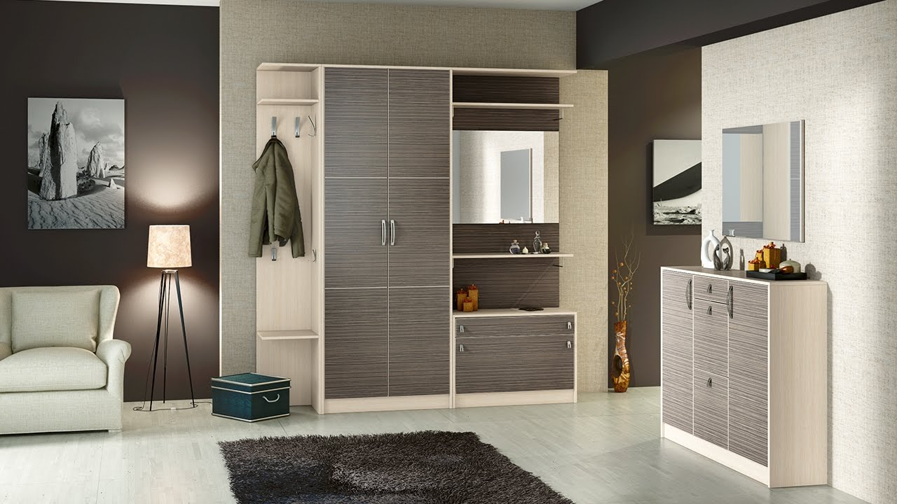 Дизайн узкого и длинного коридора в квартире - YouTube